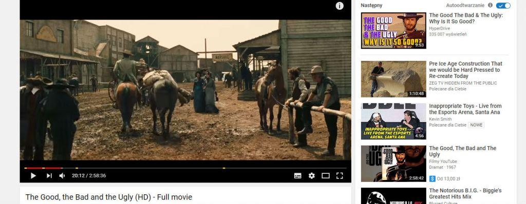 dobry zly brzydki Full movie YouTube