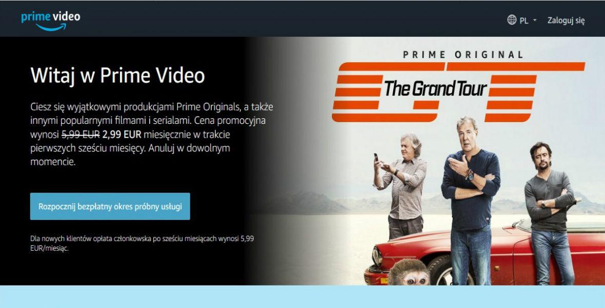Amazon Prime Video coraz bliżej naszego rynku. Z serwisu skorzystacie już po polsku!