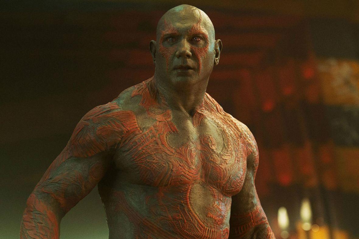 Drax pojawi się w Strażnikach Galaktyki vol. 3, ale praca dla Disneya przyprawia Dave'a Bautistę o mdłości