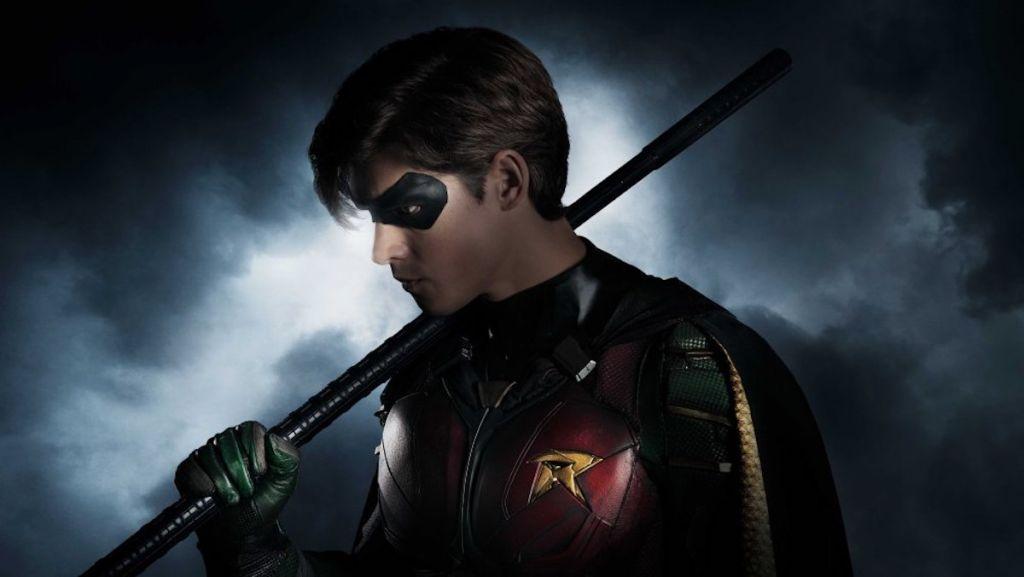 titans serial dc universe nightwing robin premiera batman day