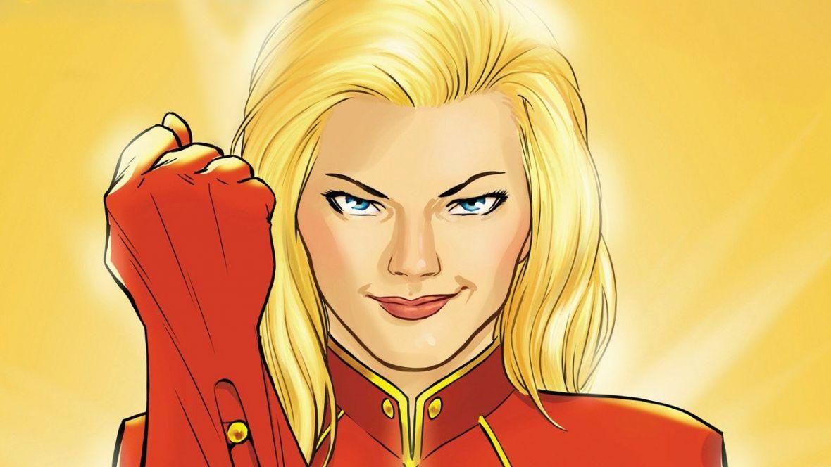 Marvel uchyla rąbka tajemnicy i pokazuje pierwsze zdjęcia z solowego filmu Captain Marvel