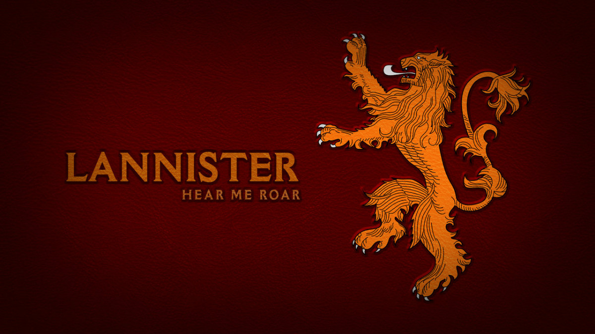 Pieśń Lodu i Ognia teorie Lannister