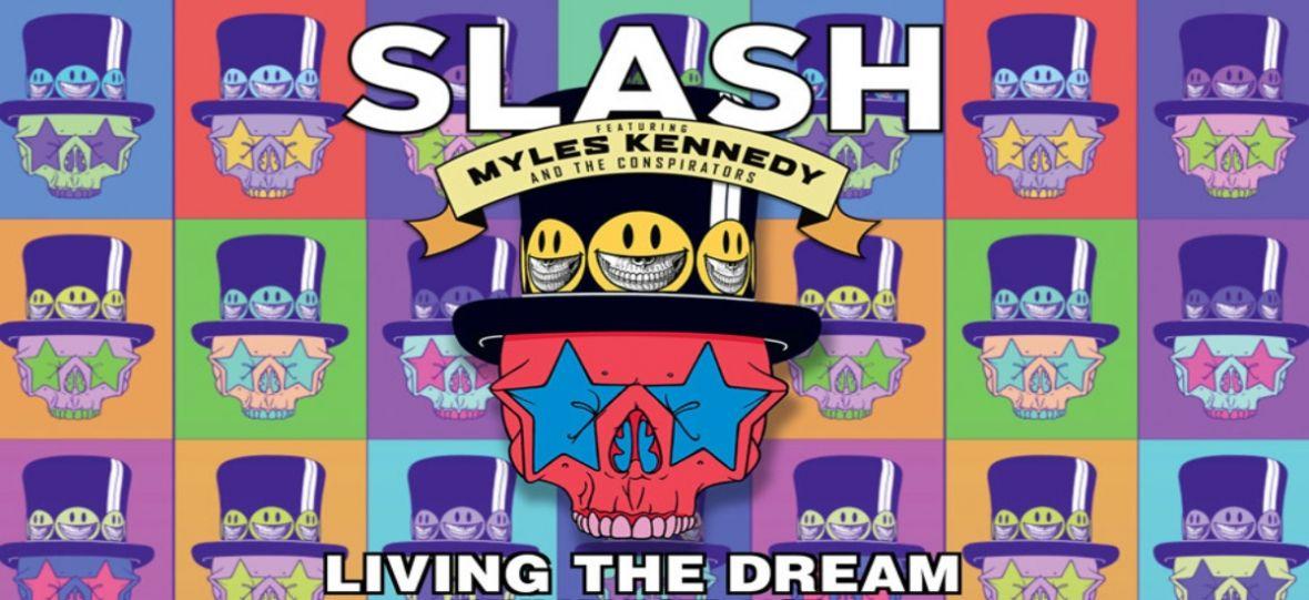 Slash i Myles Kennedy jak zawsze bezbłędni. Living the Dream – recenzja
