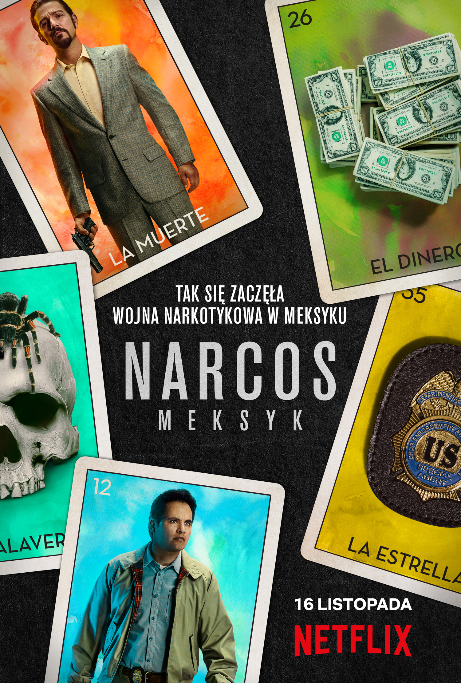 serial Narcos: Meksyk oficjalny plakat