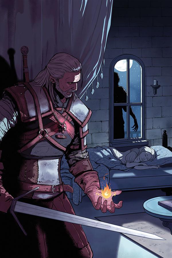 The Witcher: Of Flesh and Flame okładka 1 zeszyt