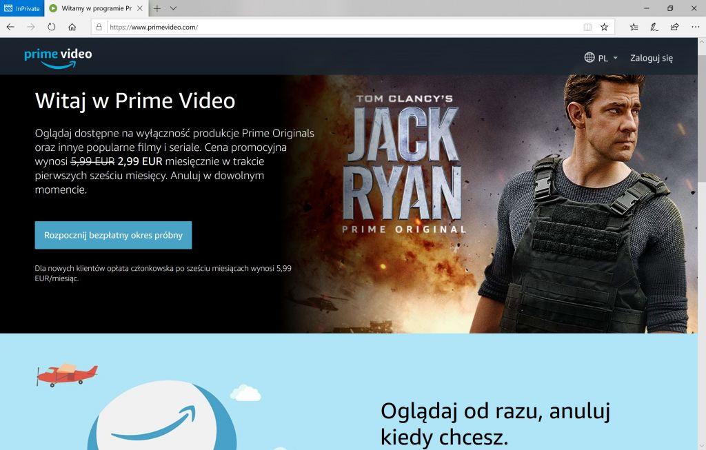 Amazon Prime Video jak korzystać