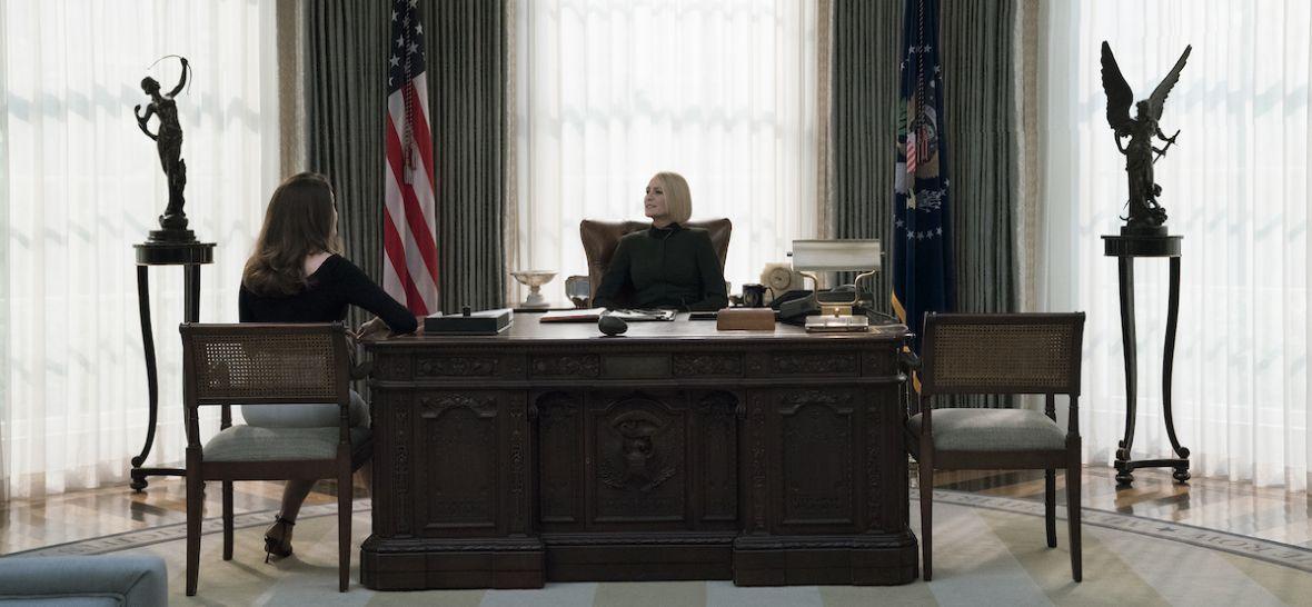 """""""To już koniec rządów białych mężczyzn w średnim wieku"""". Oglądamy 6. sezon House of Cards"""