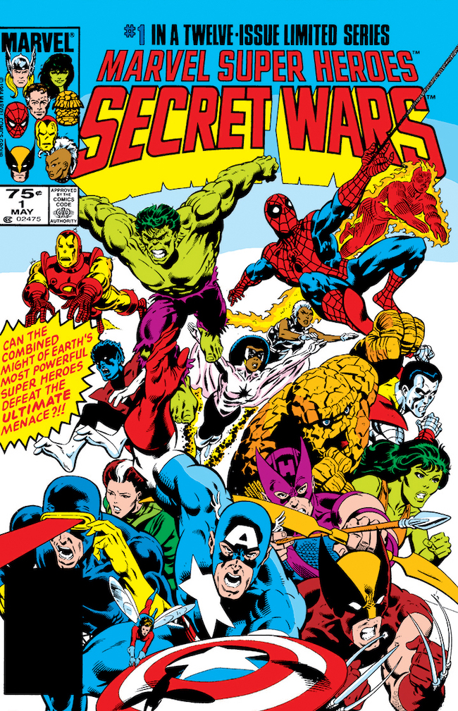 marvel secret wars komiks