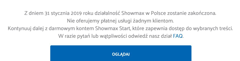 showmax start