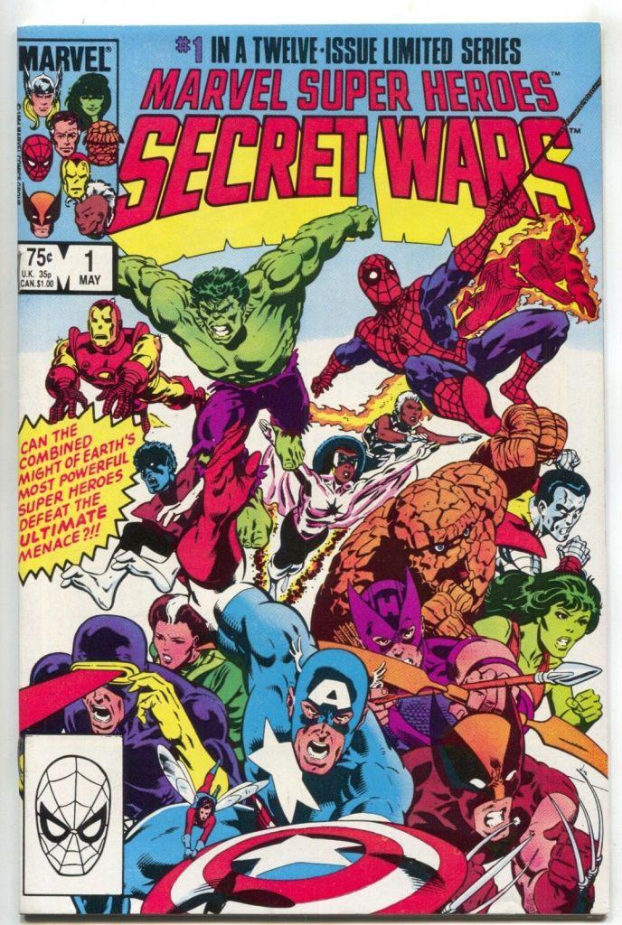 Marvel Secret Wars 1984 komiks