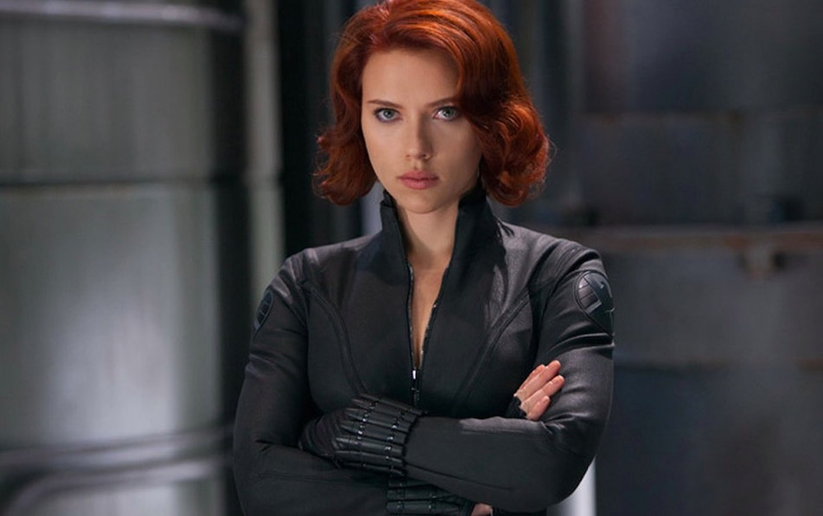 Scarlett Johansson czarna wdowa