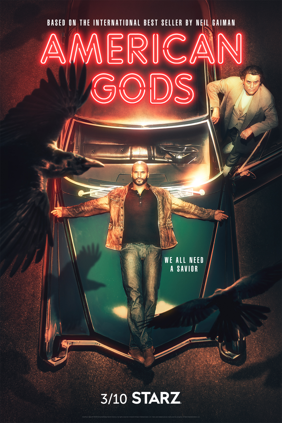 amerykańscy bogowie 2 sezon