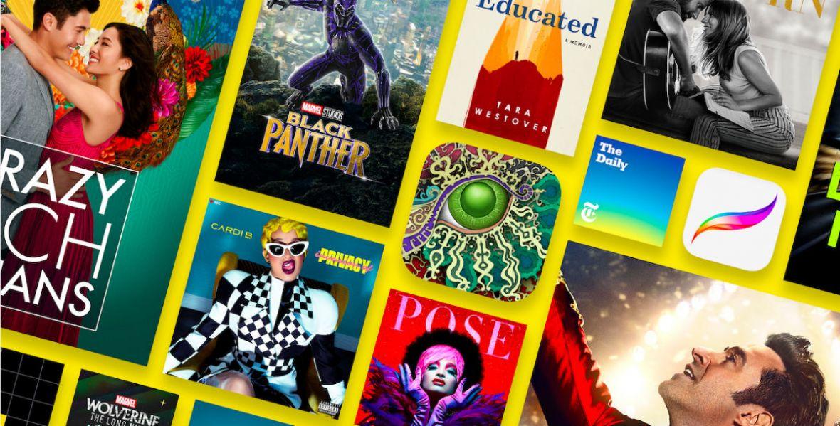 Te filmy, seriale i muzykę kochają fani Apple'a. Sprawdźcie, co najchętniej oglądali i czego słuchali w 2018 roku