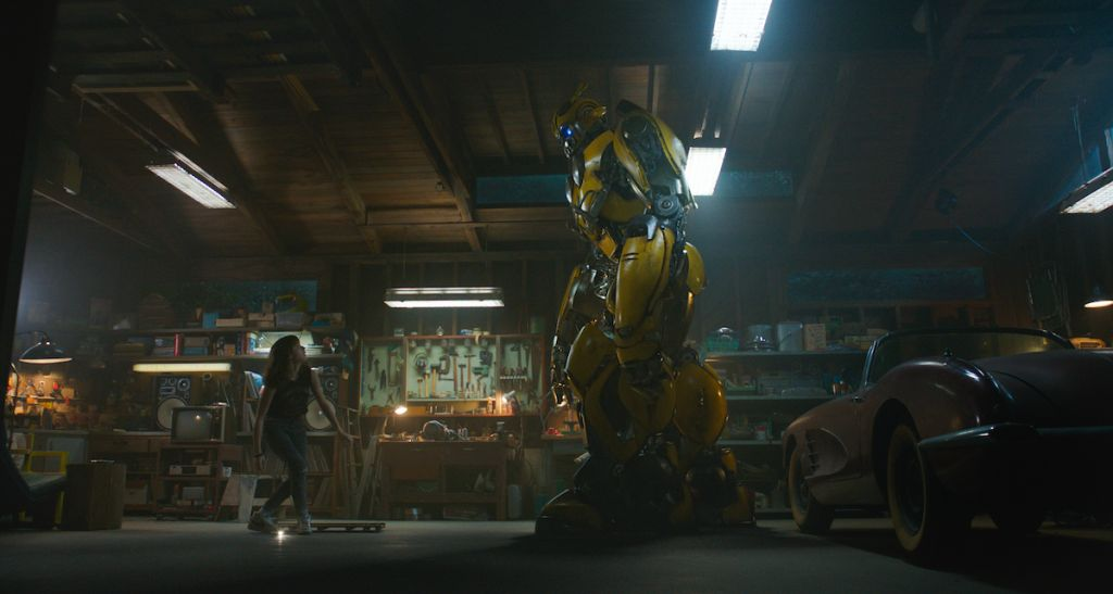 bumblebee recenzja film spin-off transformers
