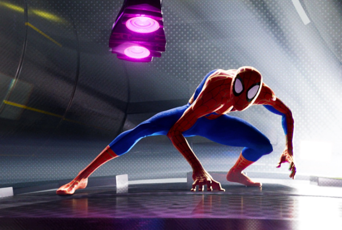 spider-man uniwersum into the spider-verse recenzja