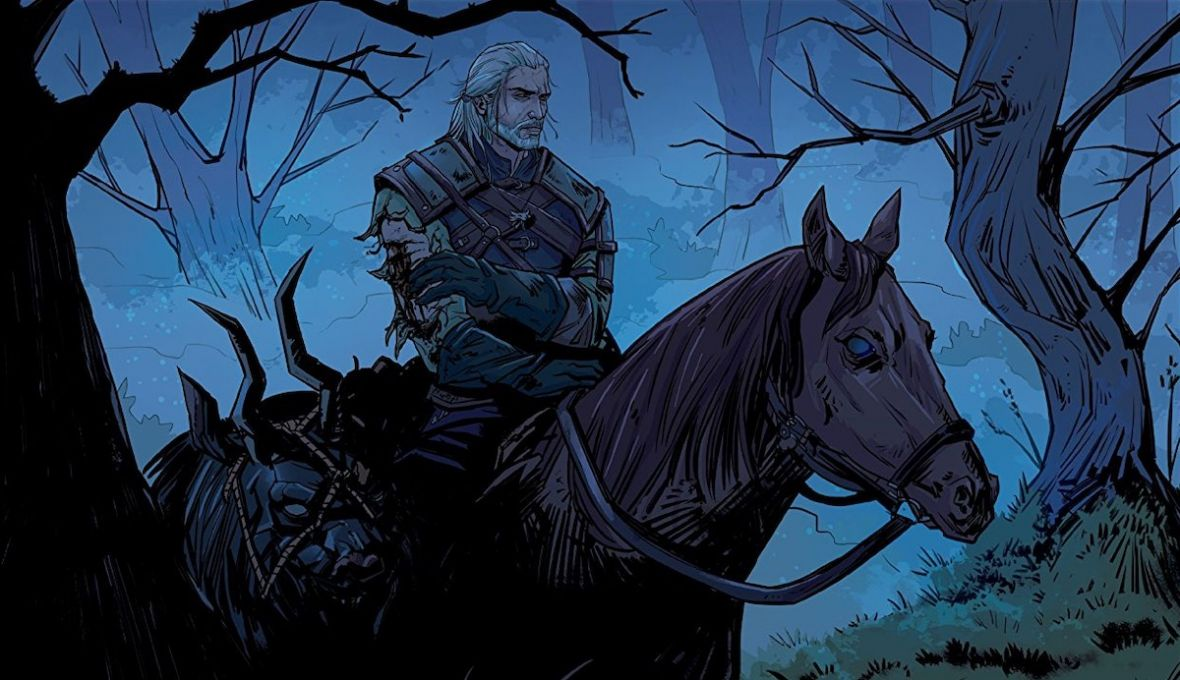 "Nowa przygoda Geralta z Rivii. Recenzujemy komiks ""The Witcher: Of Flesh and Flame"""