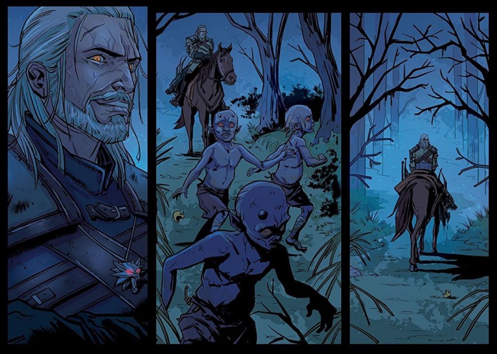 the witcher of flesh and flame komiks recenzja wiedzmin cd projekt red dark horse