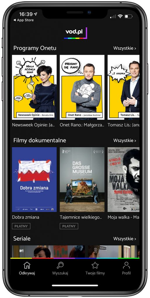 vod.pl nowy wygląd