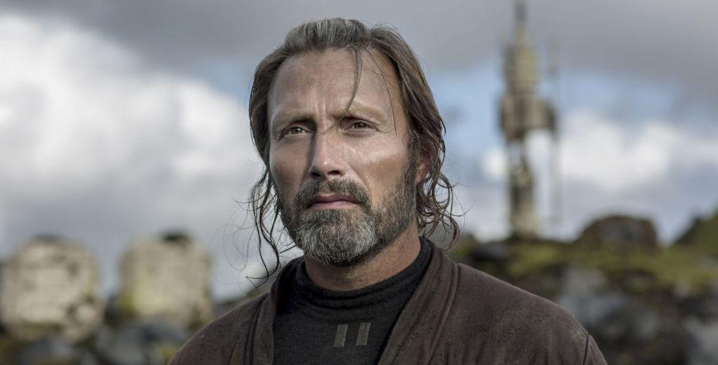 Mads Mikkelsen jako Galen Erso w filmie Łotr 1. Gwiezdne wojny - historie