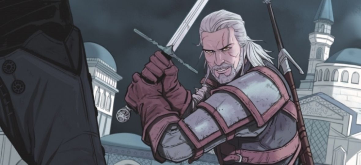"""Geralt, Jaskier i konkubiny. Do sprzedaży trafił drugi zeszyt komiksu """"The Witcher"""""""