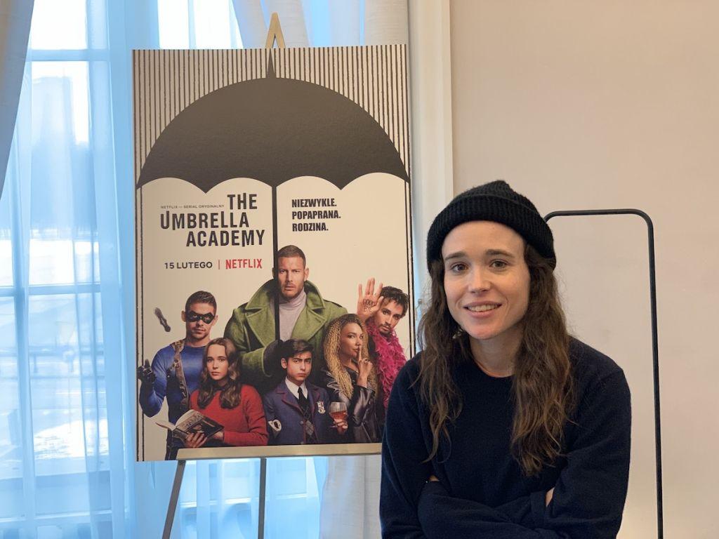 ellen page the umbrella academy vanya wywiad 2