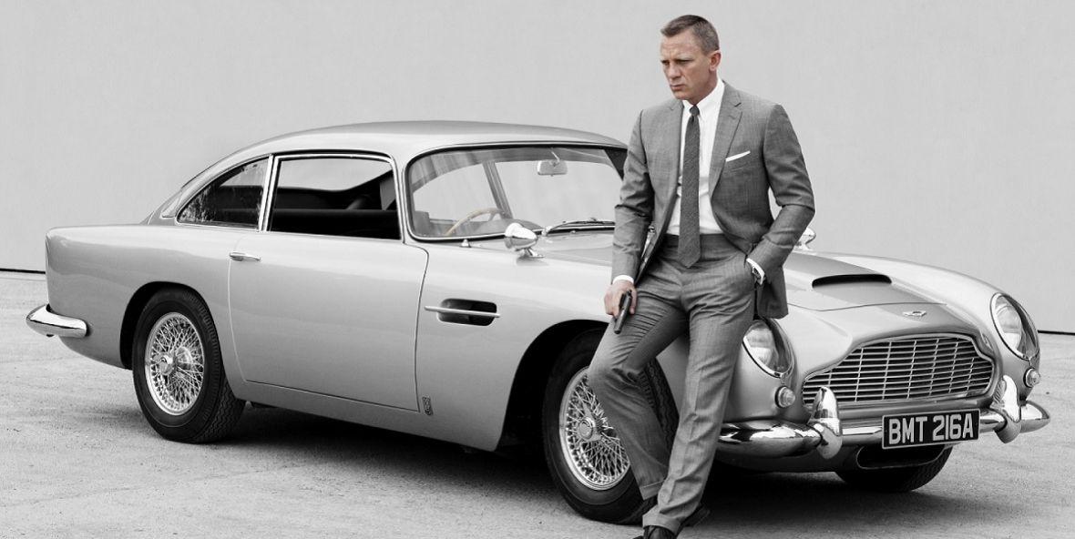 James Bond w wersji eko. 007 ma zasiąść za kierownicą elektrycznego Astona Martina