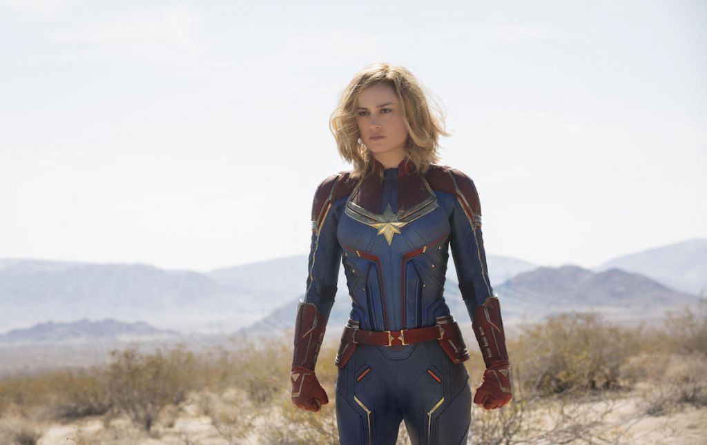 kapitan marvel recenzja captain marvel film opinie