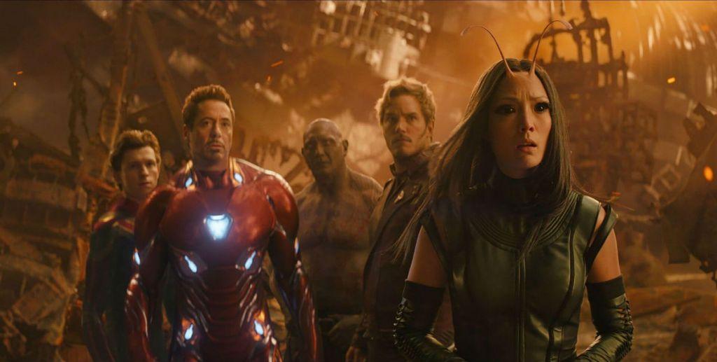 Avengers Infinity War otwarcie