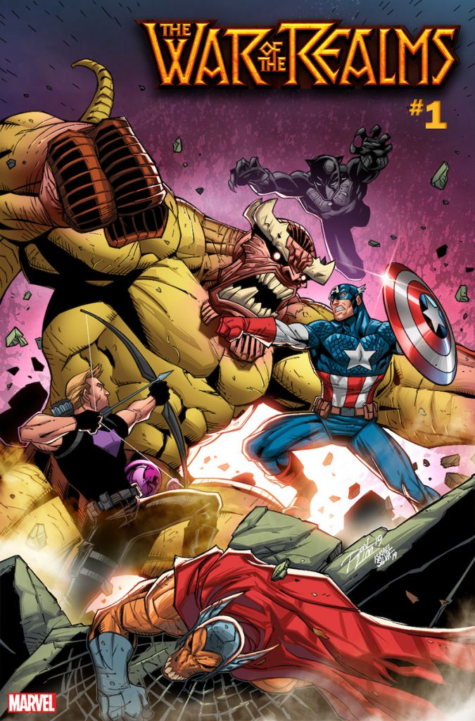 avengers 5 5 war of the realms