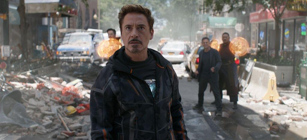 avengers koniec gry iron man
