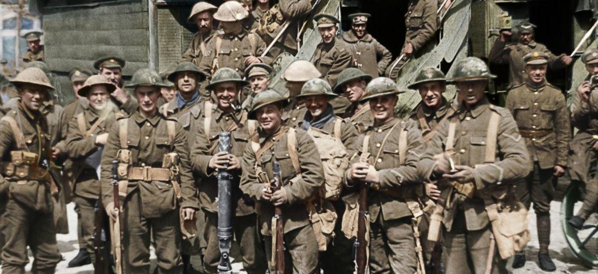 """""""I młodzi pozostaną"""" od Petera Jacksona to niezwykły film o I wojnie światowej, jakiego jeszcze nie widzieliście"""