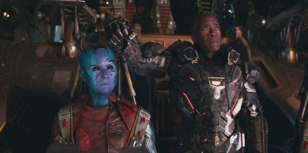 nebula war machine avengers endgame