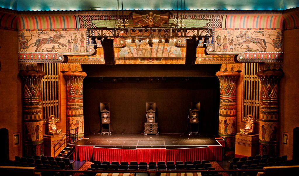 Wnętrze Egyptian Theatre, źródło: egyptiantheatre.net
