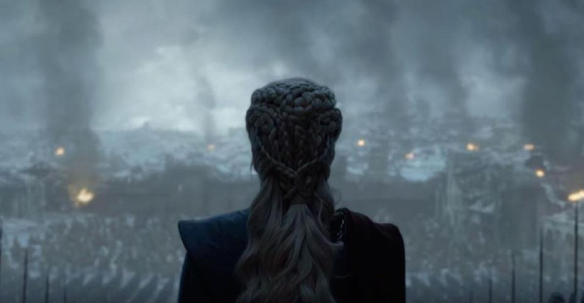 Kadr z finałowego odcinka Gry o Tron