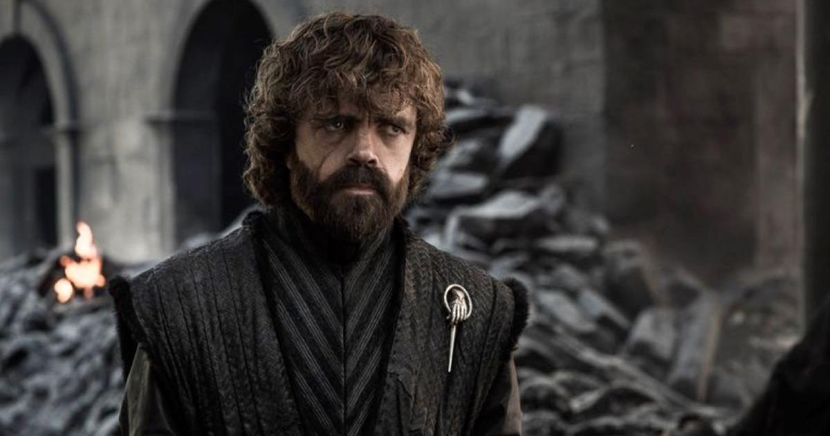 Tyrion na zdjęciu promocyjnym finału Gry o Tron