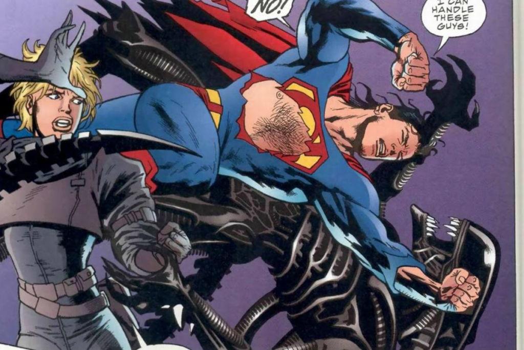 obcy vs superman