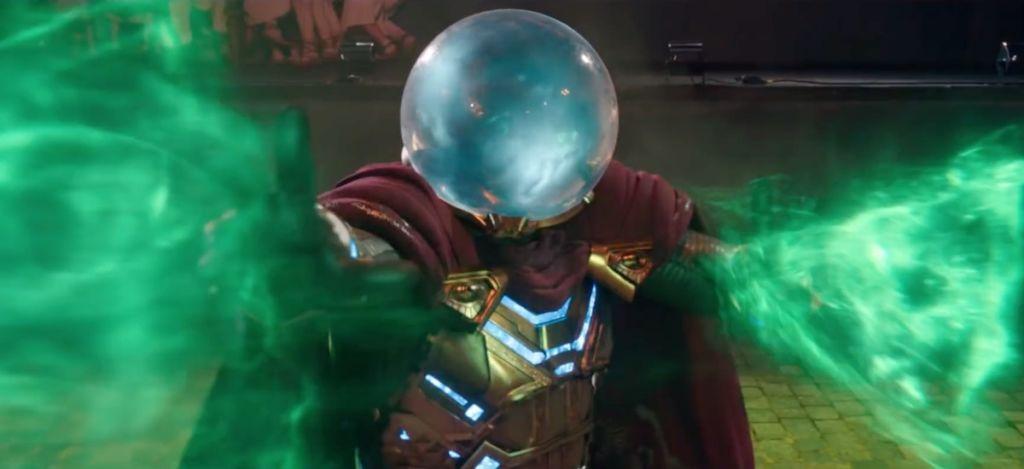 spider-man daleko od domu far from home trailer mysterio multiwersum 2