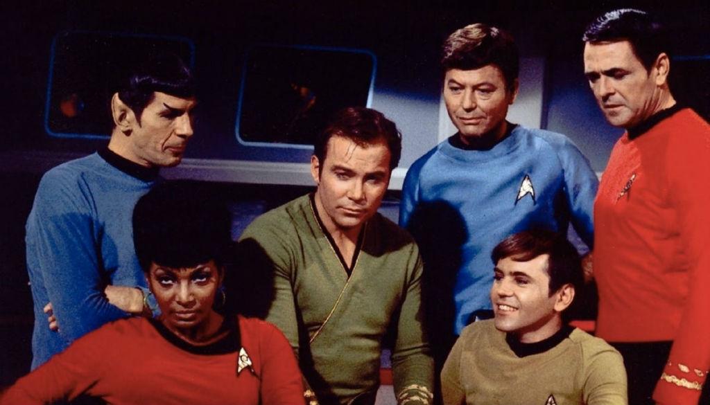 Główni bohaterowie pierwszego Star Treka