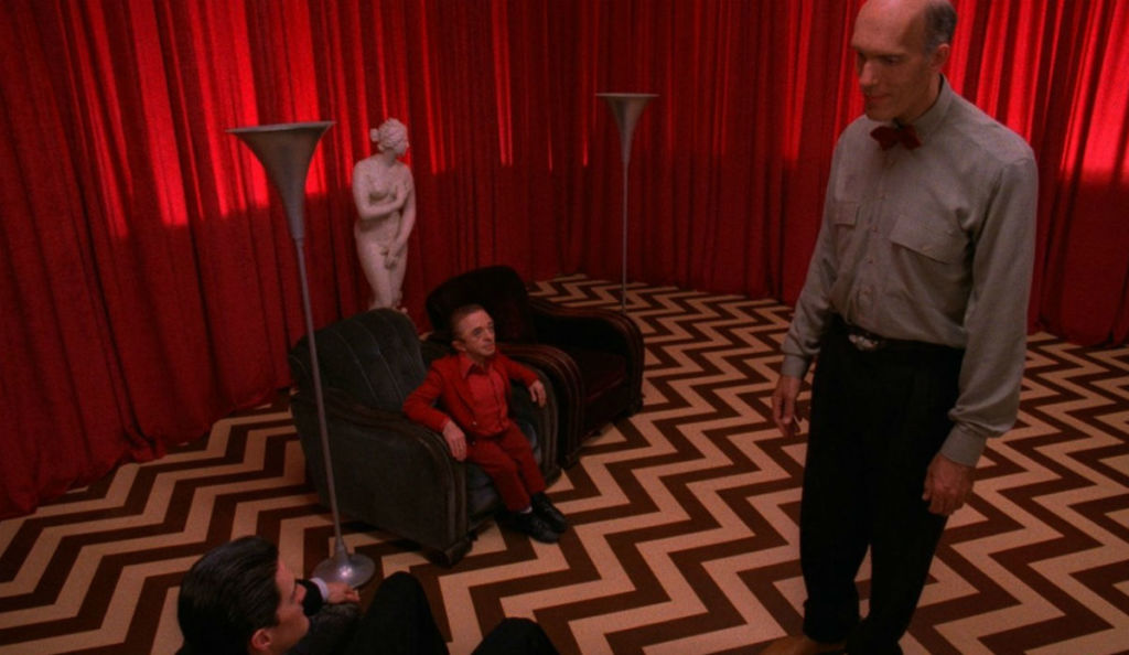 Kadr z serialu Twin Peaks