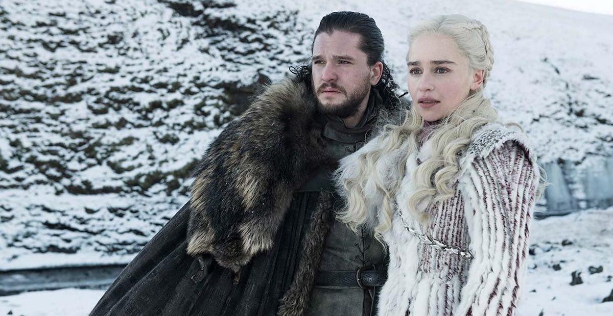 Gra o tron - Jon i Daenerys