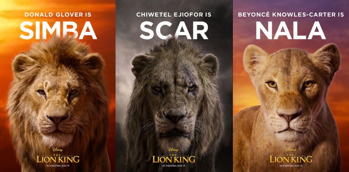 Król Lew - Simba Nala i Skaza
