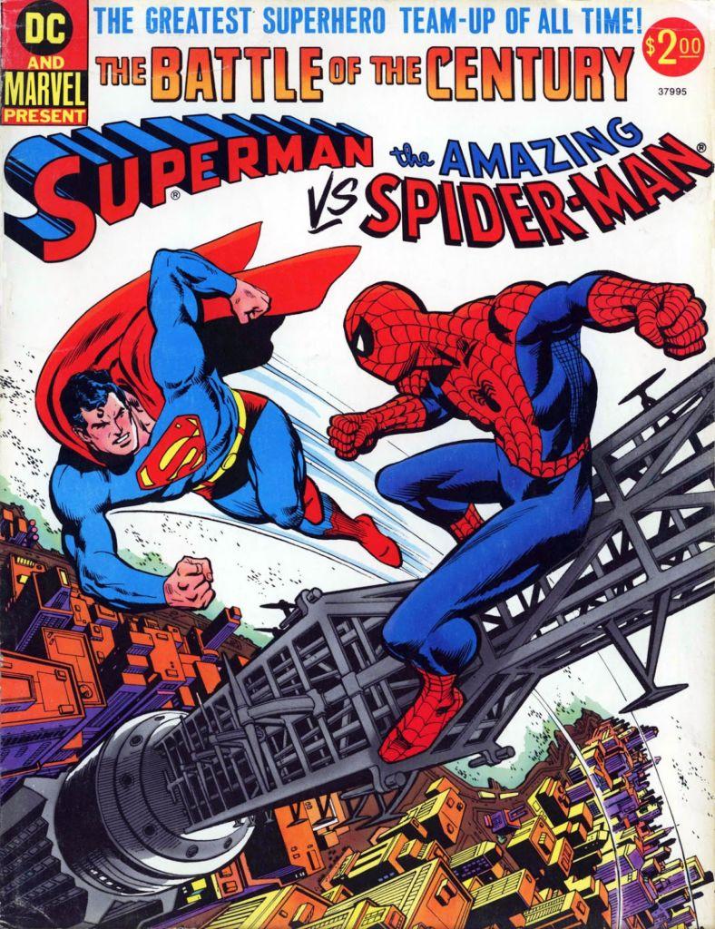Superman vs The Amazing Spider-Man-komiks