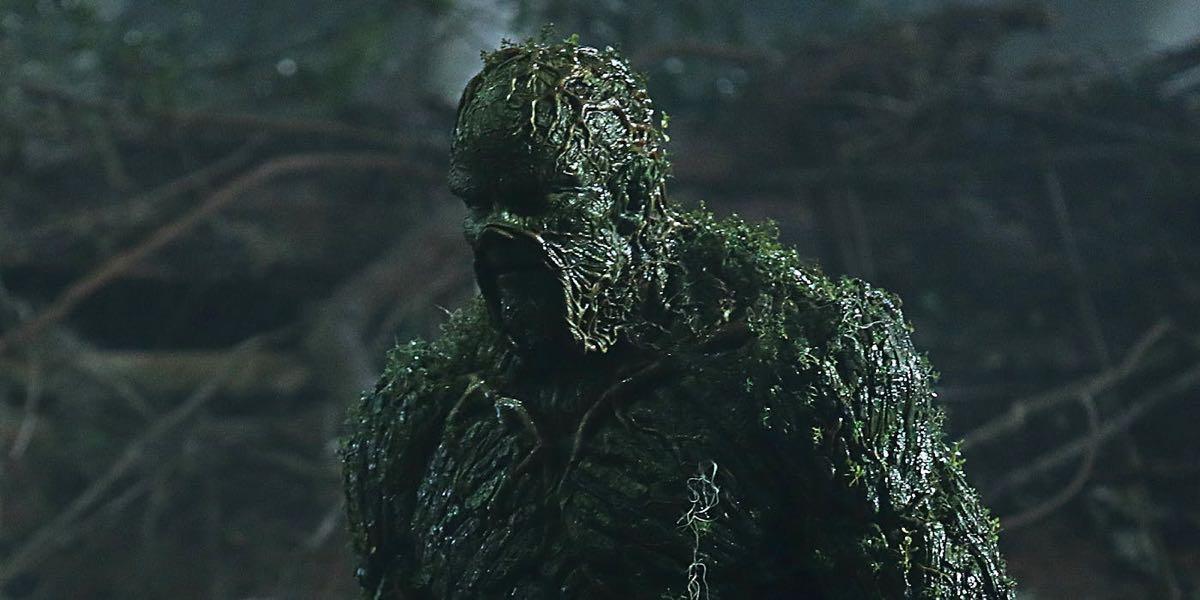 kadr z serialu The Swamp Thing, skasowanego przez DC Ubiverse po jednym odcinku