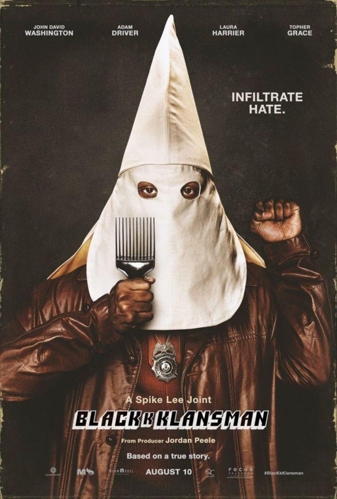 blackkklansman plakat
