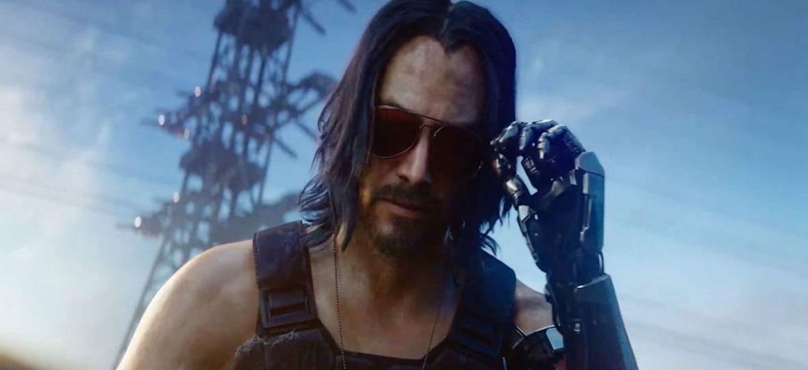 """Keanu Reeves był twarzą cyberpunku, zanim to było modne i trafił do gry """"Cyberpunk 2077"""""""