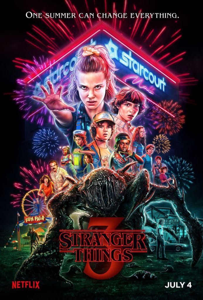 stranger things 3 plakat