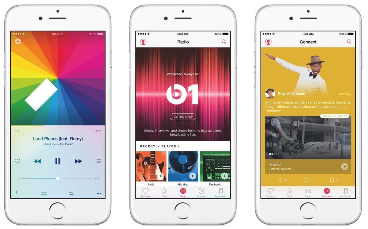 Apple Music - telefon