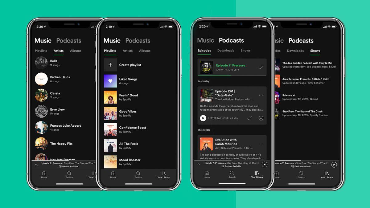 Spotify - aplikacja na telefon