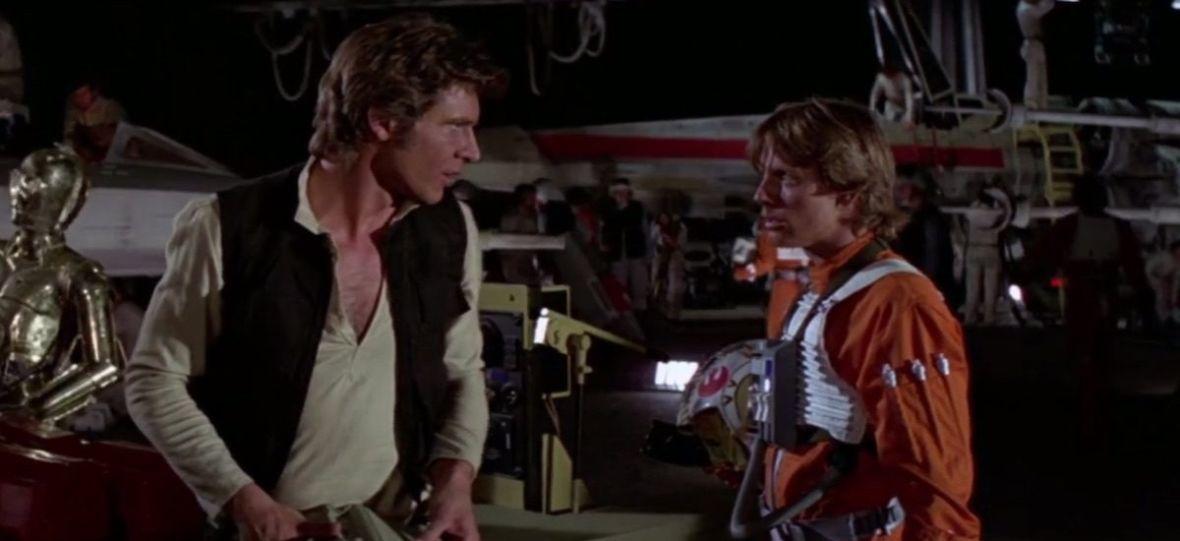"""Han Solo i Luke Skywalker – spotkanie pierwszego stopnia. Wyciekło nagranie z próbnych zdjęć do """"Gwiezdnych wojen"""""""