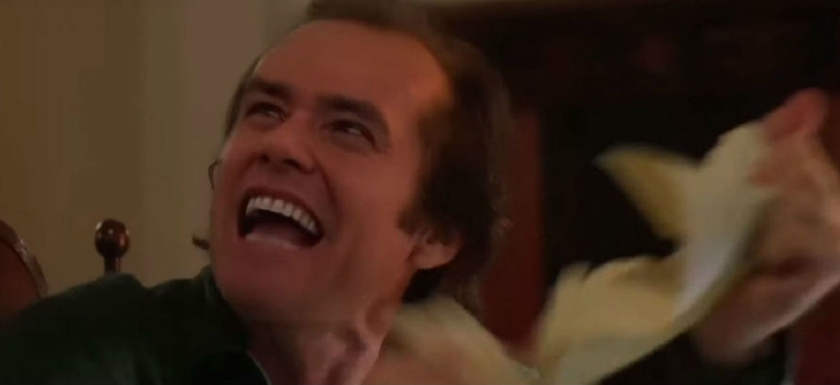 """Tak wyglądałby Jim Carrey, gdyby zagrał w """"Lśnieniu"""" zamiast Jacka Nicholsona"""